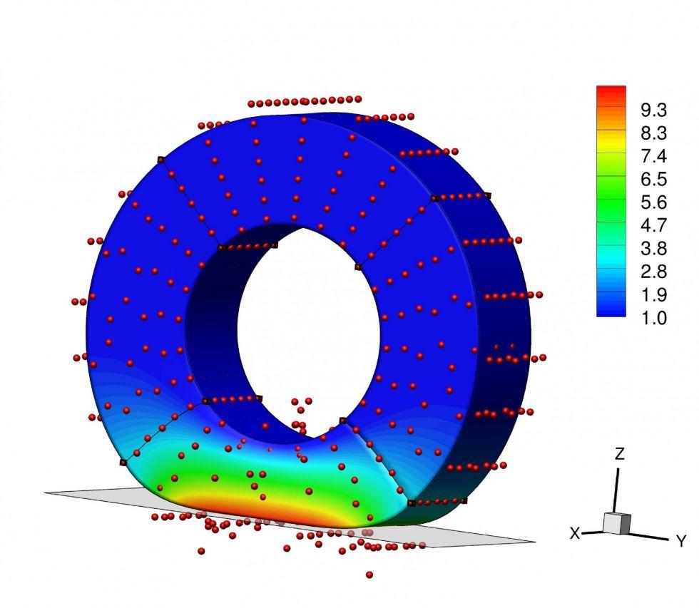 İzogeometrik Hesaplamalı İletişim Mekaniği (RTA3)