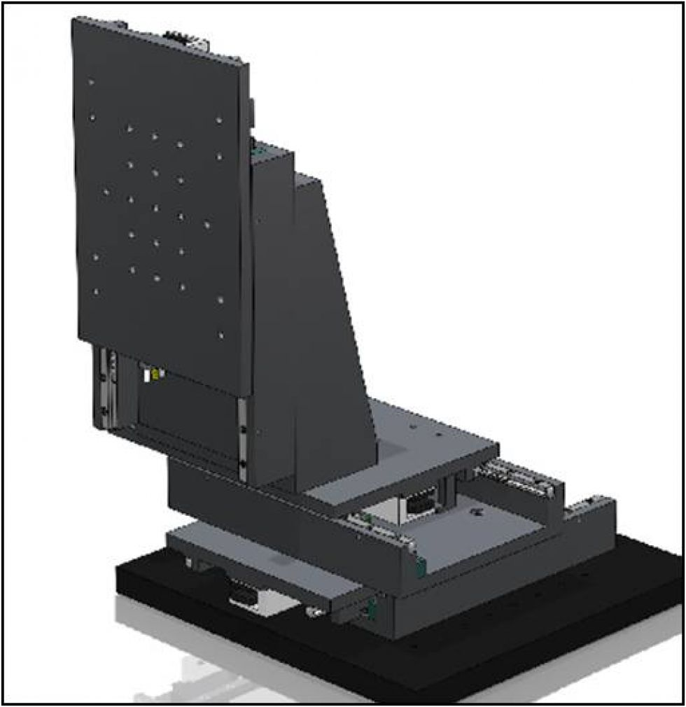 Development of a Three-axis Micro/nano-positioning System