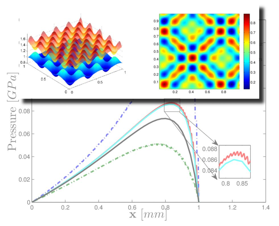 Multiscale Analysis and Micro-Texture Design for Lubrication Interfaces